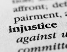 Are you facing injustice?